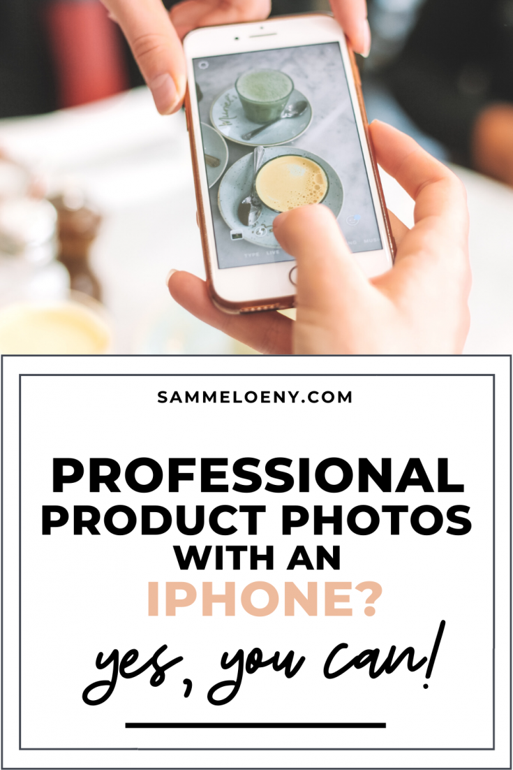 How You Can Take Professional Product Photos with an iPhone